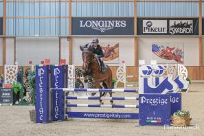Risako placed 1st and 3rd in the 115cm speed class